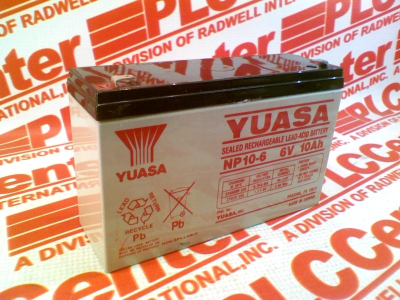 YUASA NP10-6