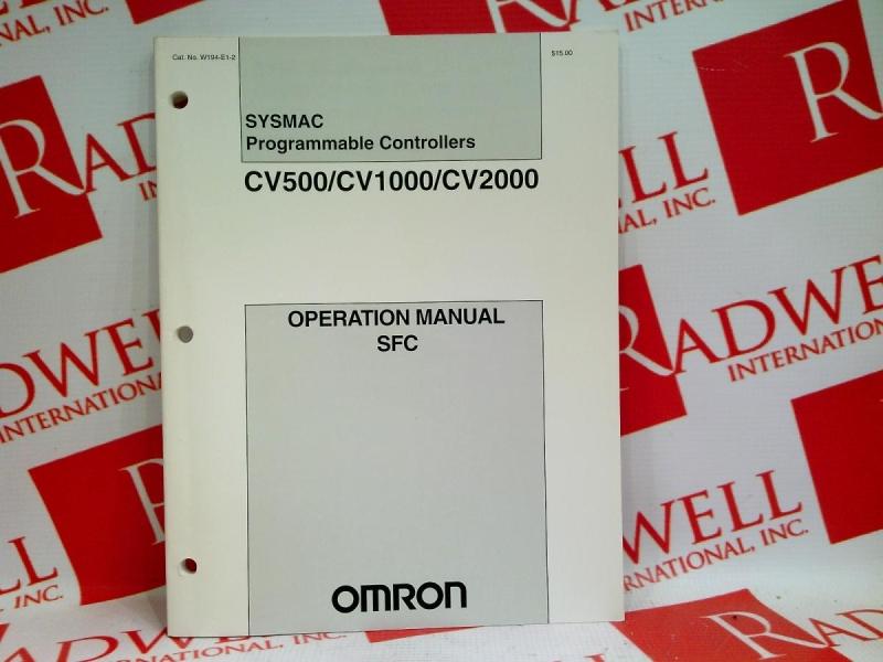 OMRON W194-E1-2
