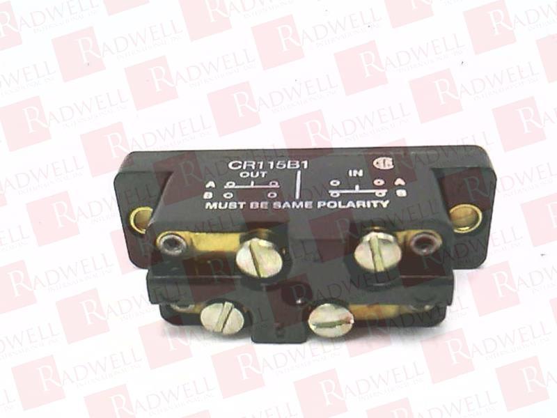 GENERAL ELECTRIC CR115B1 1