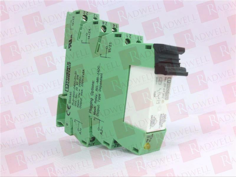 PLC-RSC- 24DC/21-21 by PHOENIX CONTACT - Buy or Repair at