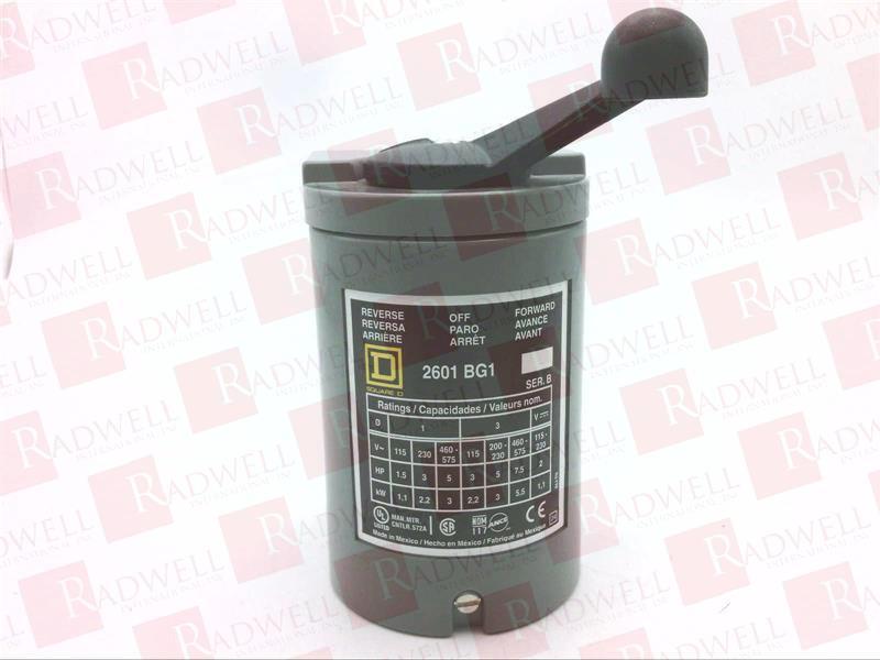 SCHNEIDER ELECTRIC 2601BG1