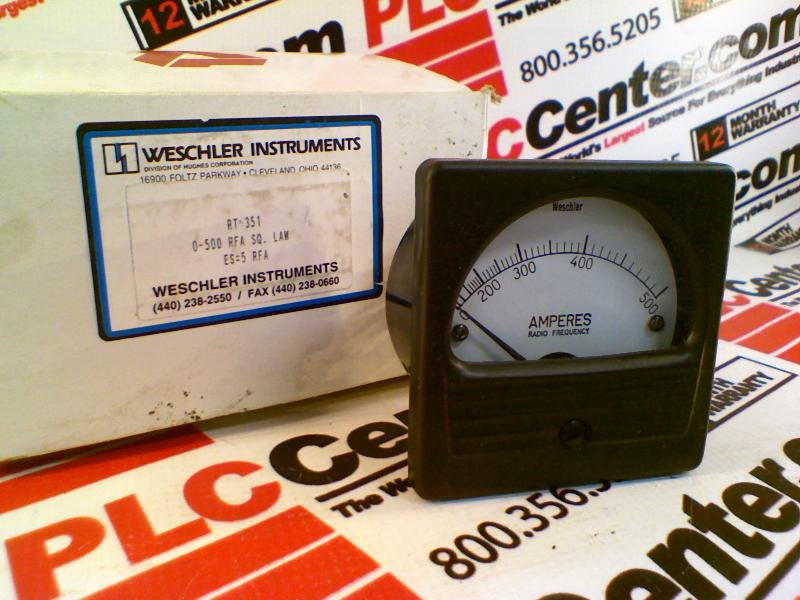 WESCHLER RT-351