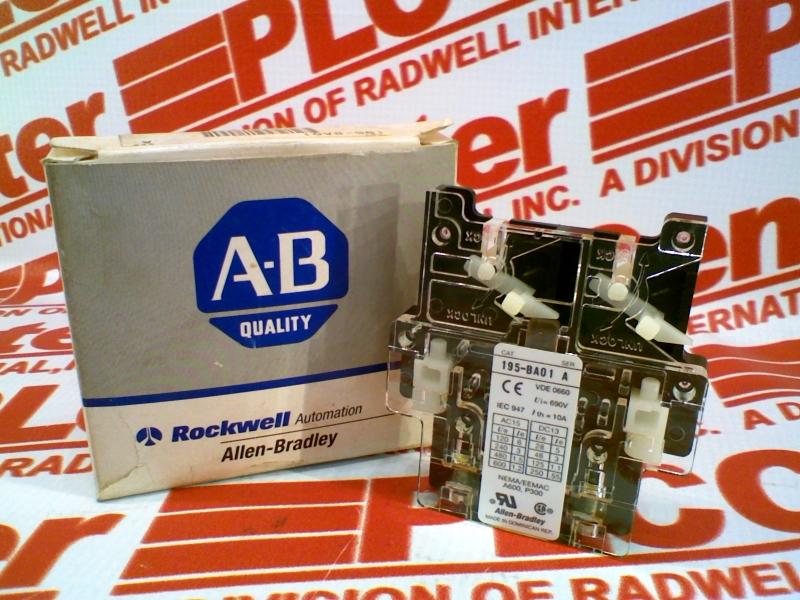 ALLEN BRADLEY 195-BA01