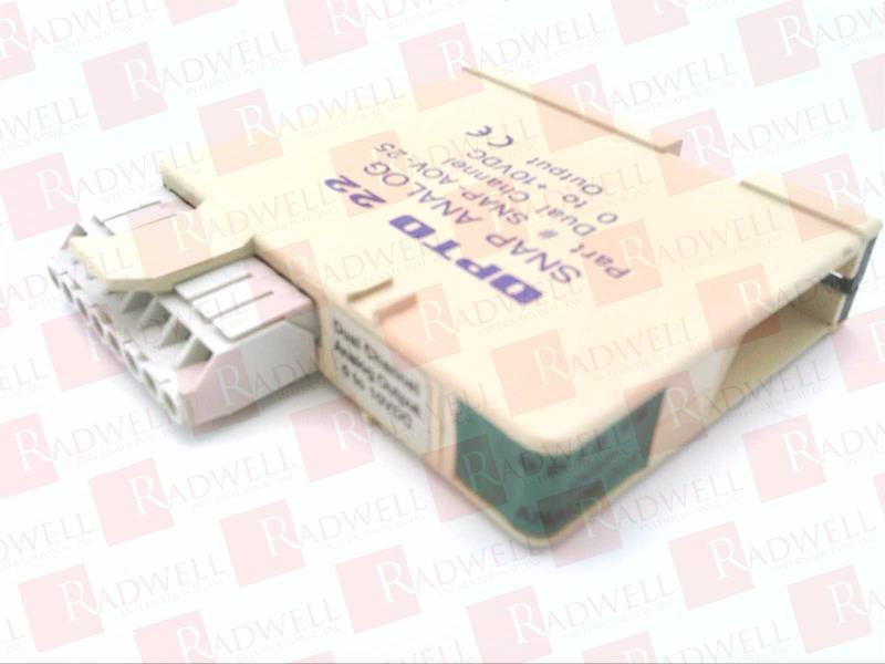 SNAP-AOV-25 by OPTO 22 - Buy or Repair at Radwell