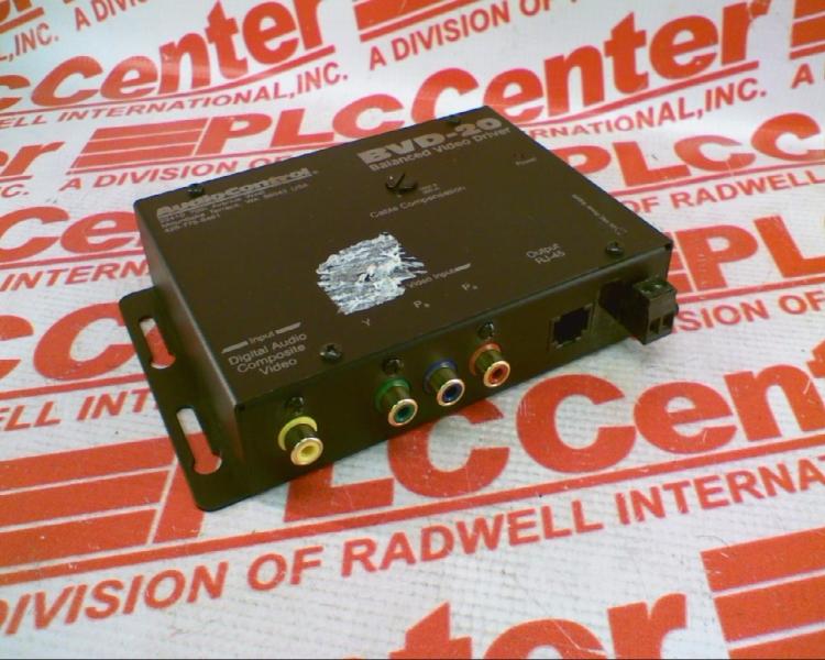AUDIO CONTROL BVD-20