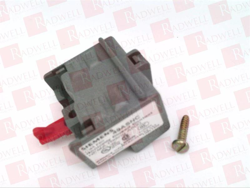 Siemens 49AB01LB Starter and Contactor Auxiliary Contact Kit 1 NC Late Break Type