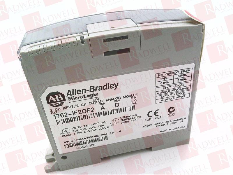 ALLEN BRADLEY 1762-IF2OF2