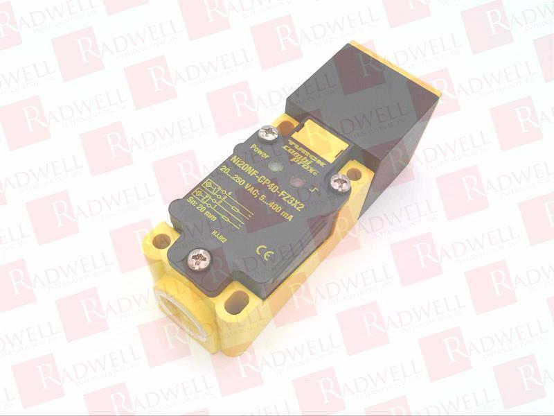 NI20NF-CP40-FZ3X2 by TURCK ELEKTRONIK - Buy or Repair at Radwell