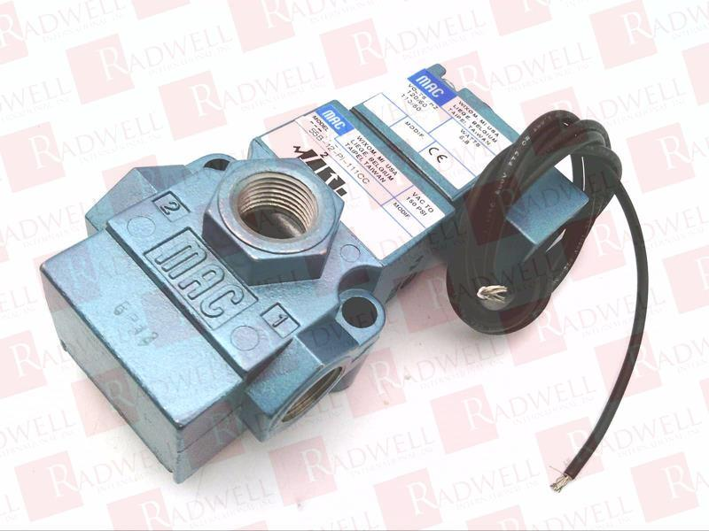 MAC VALVES INC 55B-12-PI-111CC