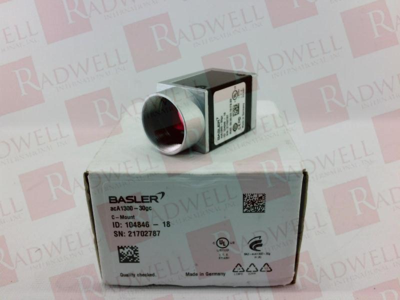 BASLER VISION TECHNOLOGIES ACA1300-30GC