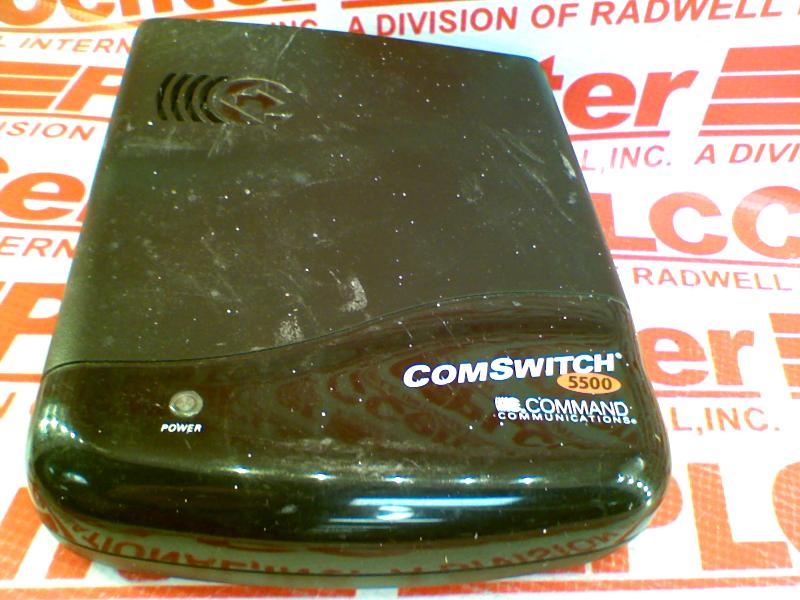 COMMAND COMMUNICATION COMSWITCH-5500