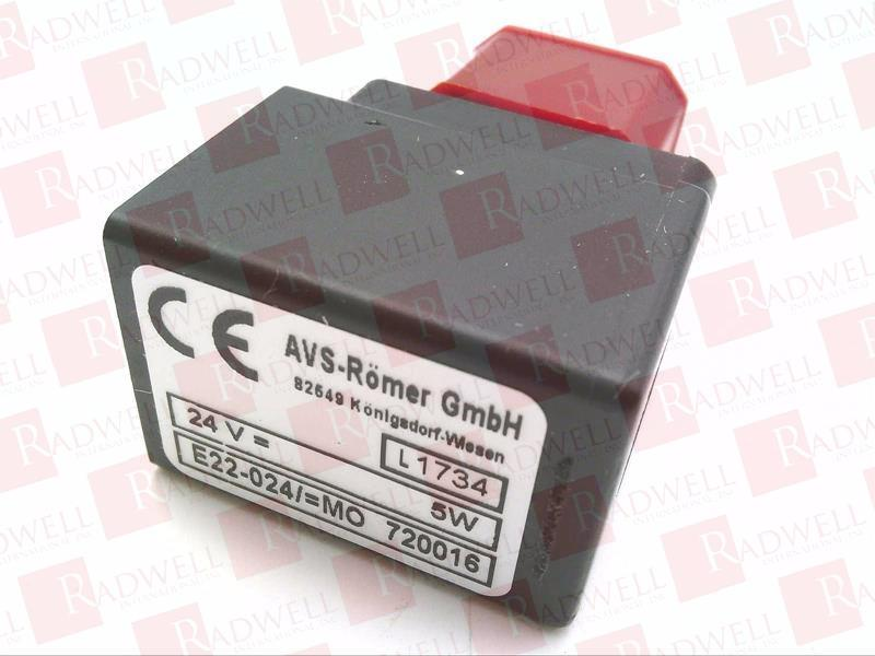 NEW AVS ROMER EAV-213-C18-1//8F /& AVS ROMER E22-024//=MO 720016 SOLENOID VALVE