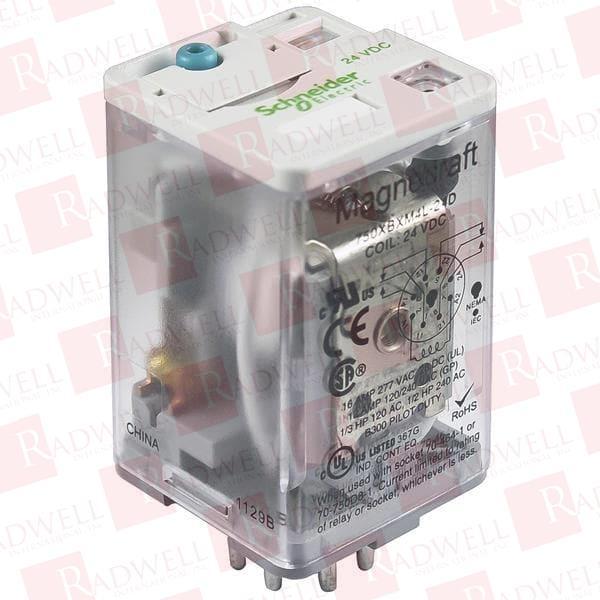 Schneider Electric 750XBXRM4L-24D 24VDC NSNP