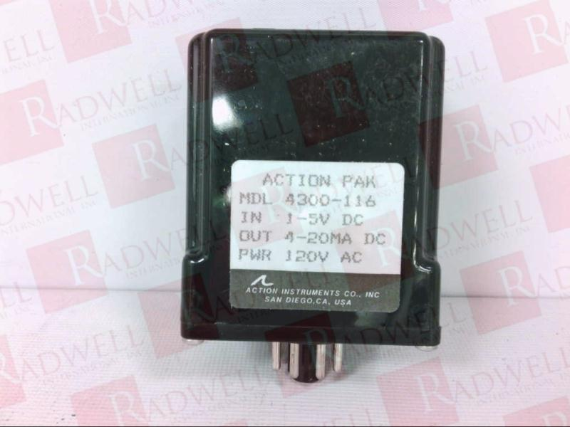 ACTION INSTRUMENTS 4300-116