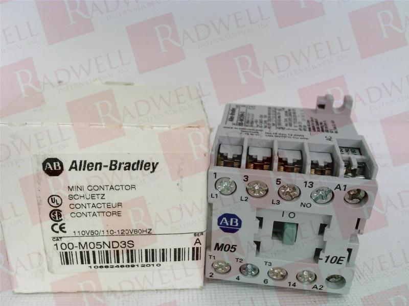 ALLEN BRADLEY 100-M05ND3S