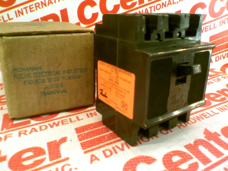 FUCHS ELECTRICAL INDUSTRIES EQC-3-4-015