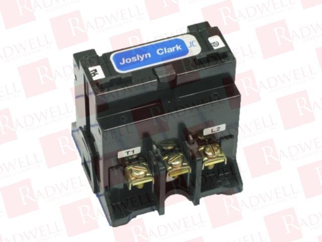 CONTACTOR 40AMP 3POLE W//120VAC COIL 2NO//1NC 7001-7140-11 JOSLYN CLARK 7001-7140-11