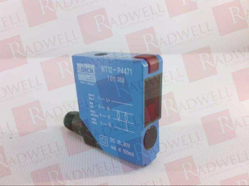 SICK OPTIC ELECTRONIC WT12-P4471