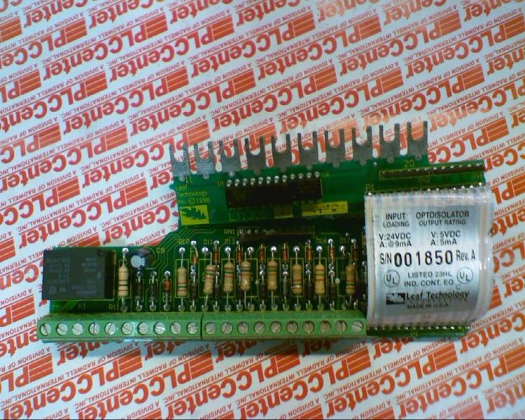 LEAF TECHNOLOGY INC LT1305-R-24VDC