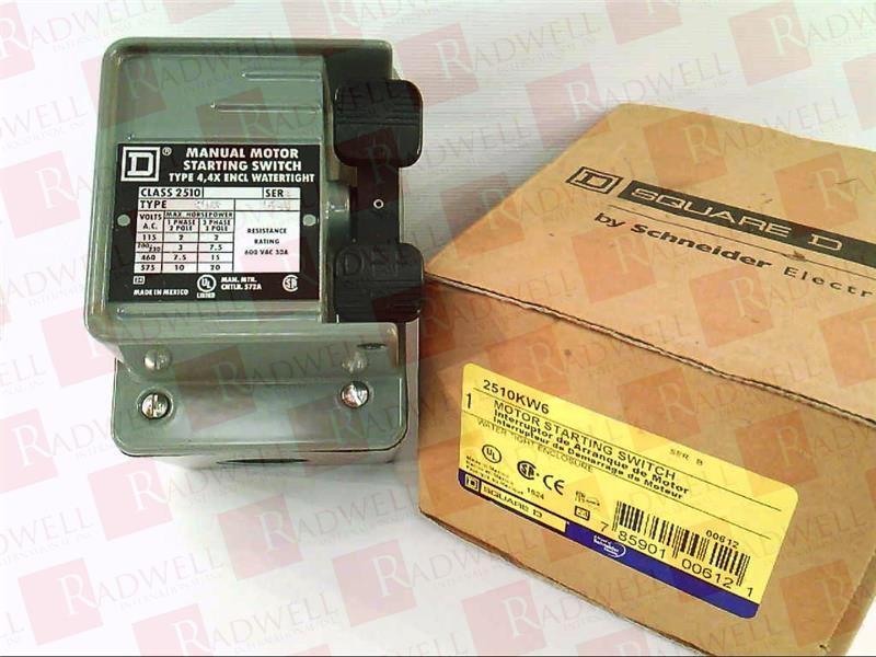 SCHNEIDER ELECTRIC 2510KW6