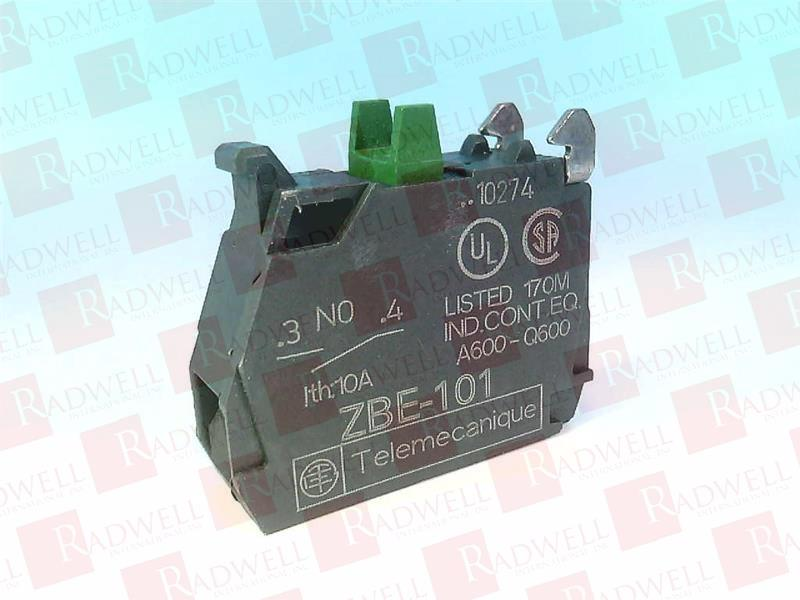 Schneider Electric ZBE101 Contact Block 22 Mm No Contacts 6hz06 for sale online