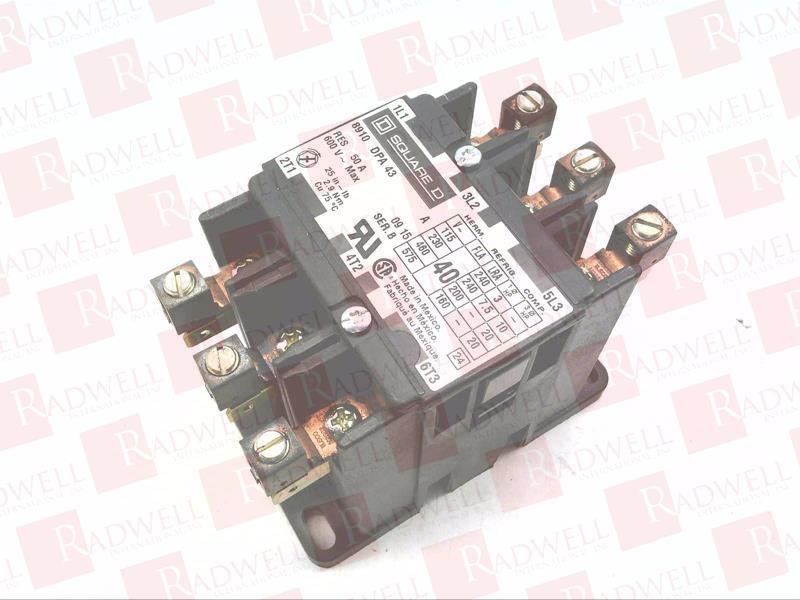 SCHNEIDER ELECTRIC 8910 DPA 43 1
