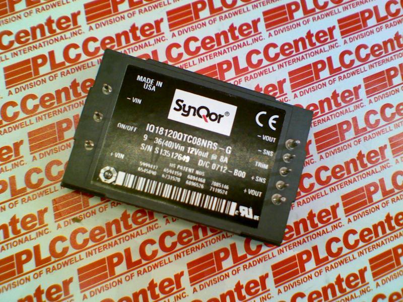 SYNQOR IQ18120QTC08NRS-G