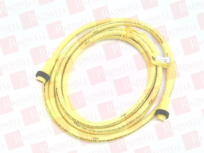 Male//Female CONNECTORS 12 FT SUPER TREX 84937 4 PIN Discontinued by Manufacturer Cord Set