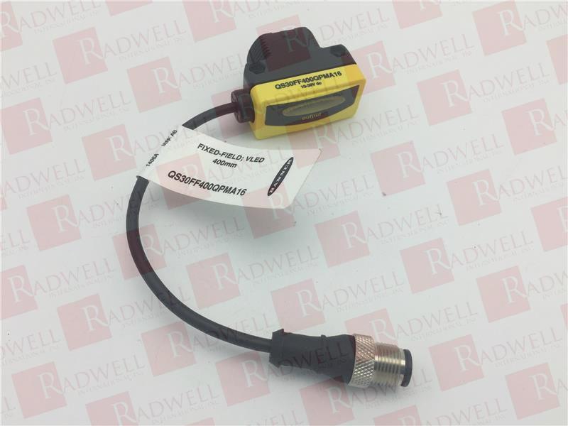 QS30FF400QPMA16 NEW IN BOX BANNER ENGINEERING QS30FF400QPMA16
