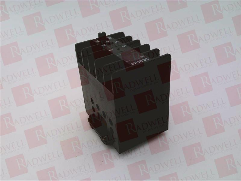 EATON CORPORATION DIL-04-40-110/120VAC-50-60HZ 0