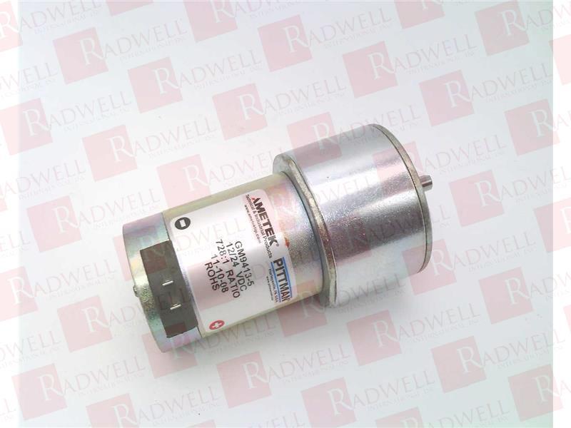 Pittman GM9413-5 VDC Gear Motor 12 VDC 728:1 Ratio