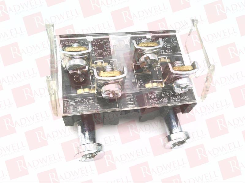 ALLEN BRADLEY 800T-XA 1