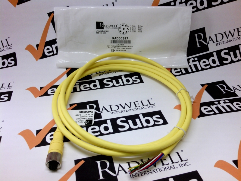 RADWELL VERIFIED SUBSTITUTE 889D-F8AB-2-SUB