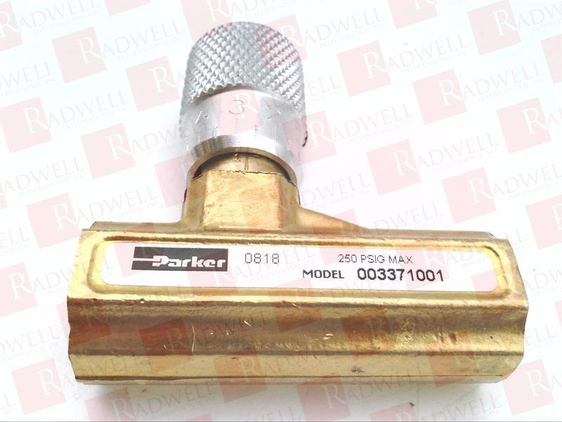 PARKER 003371001 0