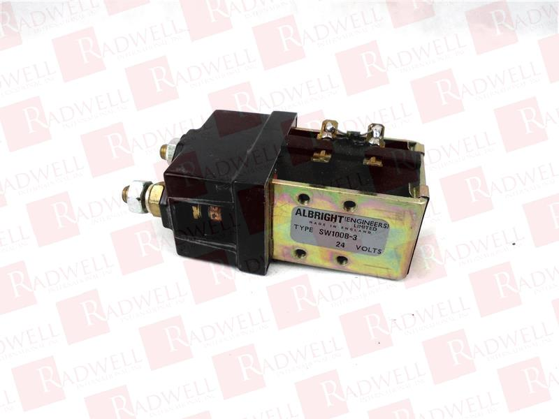 ALBRIGHT SW100B-3-24VDC