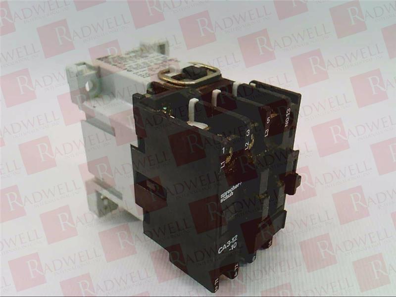 24 VDC Coil Schuh AC Contactor CA3-12-10 Warranty Sprecher Used