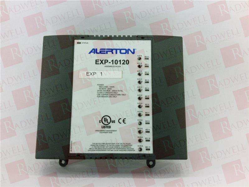 Exp 10120 By Alerton Buy Or Repair At Radwell Radwell Com