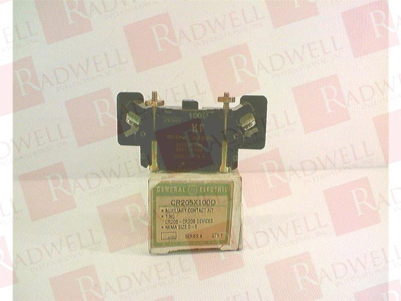GENERAL ELECTRIC CR205X100D