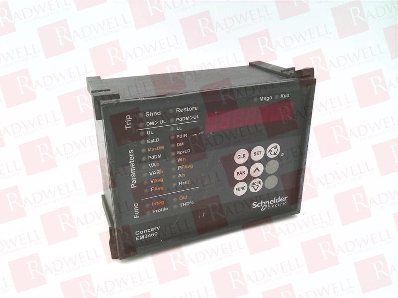 SCHNEIDER ELECTRIC EM-3460