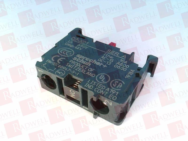10 Schuh D7-ALM Metal Mounting Latch Pilot Device Button Lot of 10 Sprecher