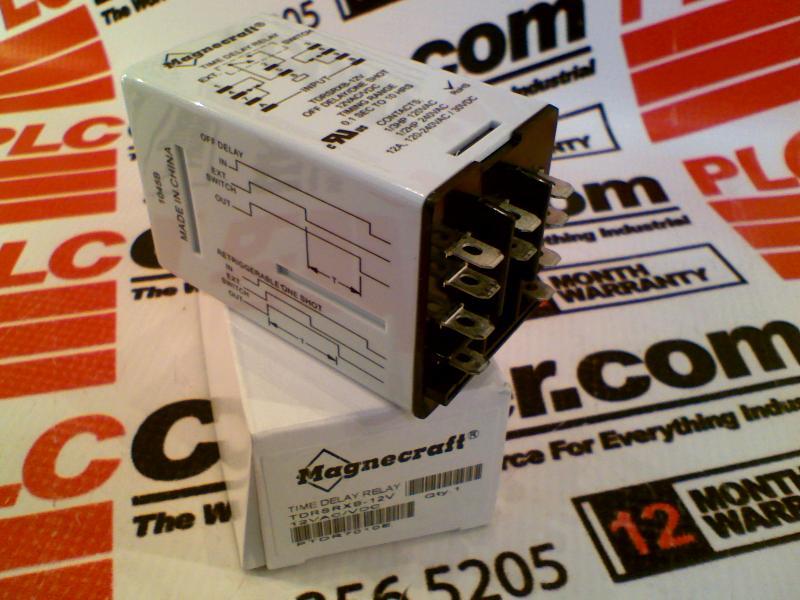 Schneider Electric TDRSRXB-24V Time Delay Relays Magnecraft