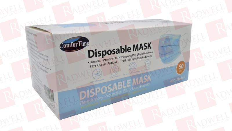 COMFORTIME DISPOSABLE FACE MASK 10BOX