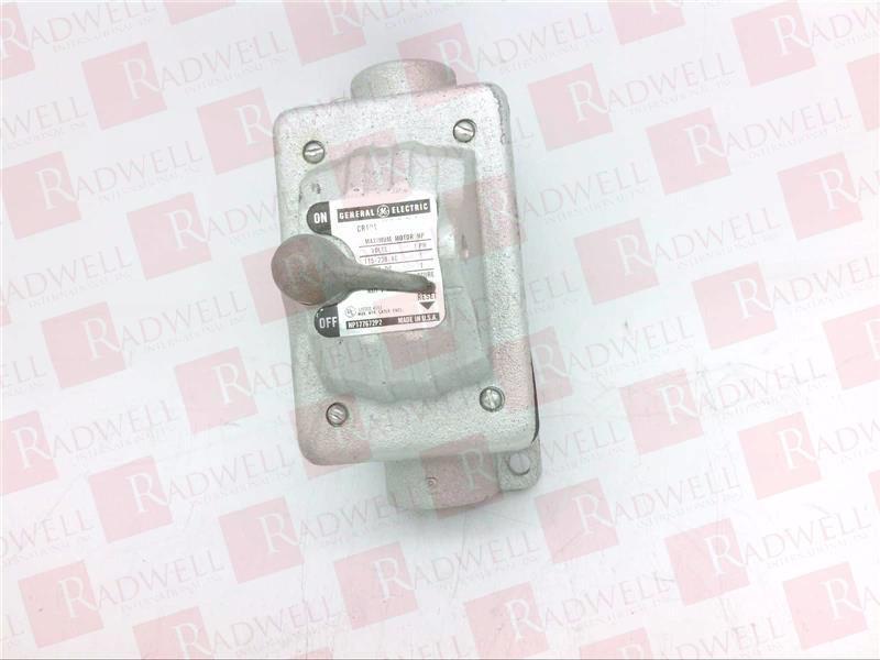 GENERAL ELECTRIC CR101-Y400H 1