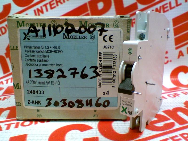 Z-AHK by EATON CORPORATION - Buy or Repair at Radwell