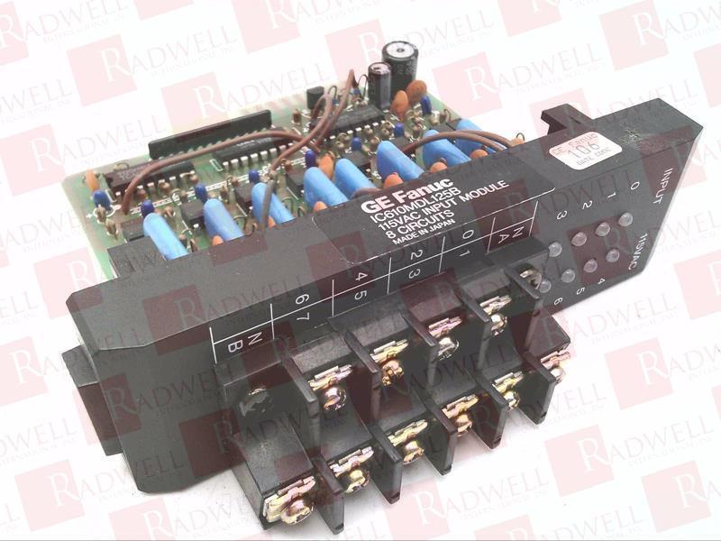 FANUC IC610MDL125 0