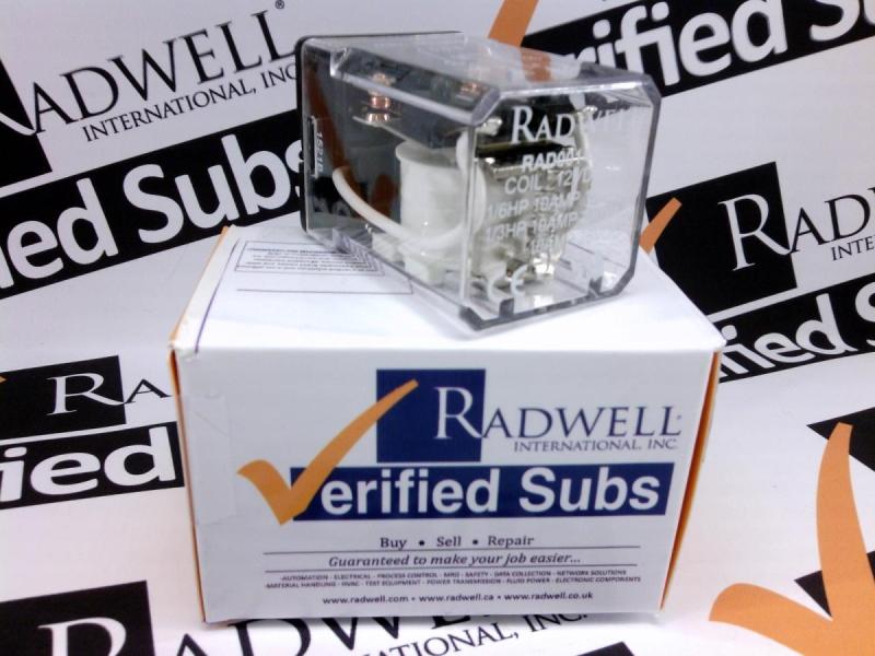 RADWELL VERIFIED SUBSTITUTE RR2P-UDC12V-SUB
