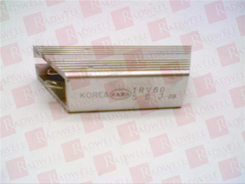 RARA ELECTRONICS COMPANY IRV60
