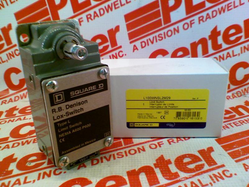 SCHNEIDER ELECTRIC L100WNSL2M29 0