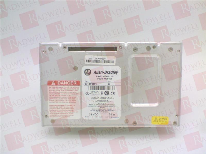 2711P-RP1 by ALLEN BRADLEY - Buy or Repair at Radwell - Radwell com
