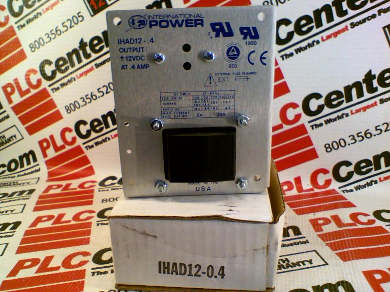 INTERNATIONAL POWER IHAD12-0.4
